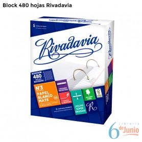 Block Familiar x 480 hojas - Rivadavia