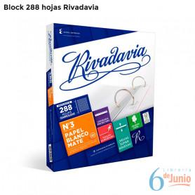 Block Familiar  x 288 hojas -Rivadavia