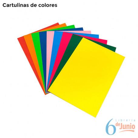 Cartulinas - colores varios