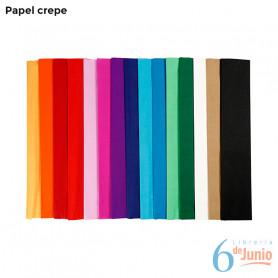 Crepe color - Colores varios