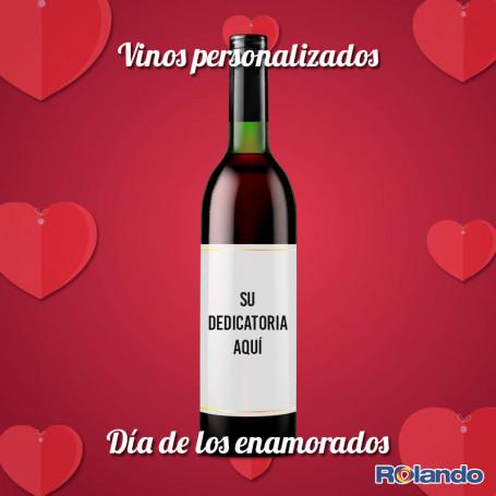 Regalá un vino personalizado - Rolando