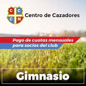 Centro Cazadores - Cuota Gimnasio