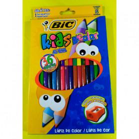 Lápices Bic Kids bicolor x 18 unidades