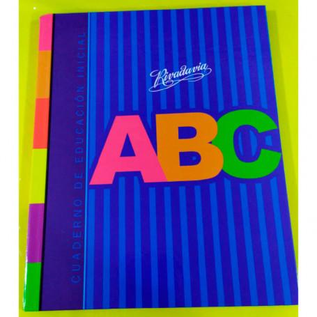 CuadernoABC nivel inicial Rivadavia19x23,5 cm.