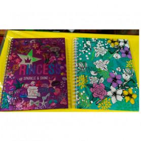 Cuadernos A4 tapa dura x 96 hojas