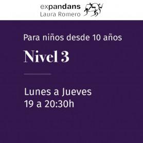 Danza clásica Nivel 3 (para niños desde 10 años) - Expandans