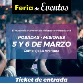 Entradas - Feria de Eventos de Misiones