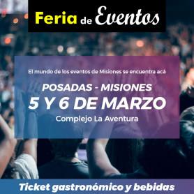 Tickets para Sector Gastronómico - Feria de Eventos de Misiones