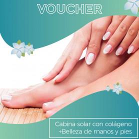 Cabina Solar de Colágeno + Belleza de manos y pies -  Cuerpo y  Alma