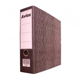 Bibliorato Avíos A4 color gris x 3 unidades
