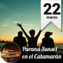 Paraná Sunset en el Catamarán -  Domingo 22 de Marzo