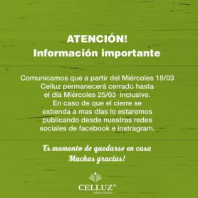 Voucher Sesión de masajes y spa facial - Celluz