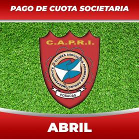 Pago de cuotas - Club CAPRI -  04 Abril