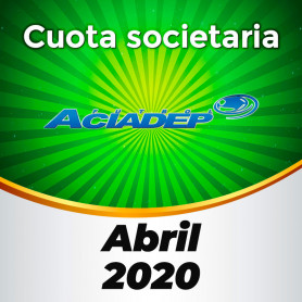 ACIADEP- Cuotas de abril 2020