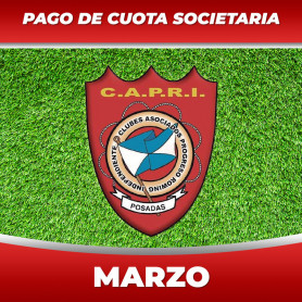 Pago de cuotas - Club CAPRI - 03 Marzo