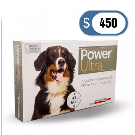 Pipeta Power de 41 a 60 kilos
