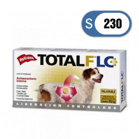 Antiparasitario Total Full hasta 20 kg - Perros