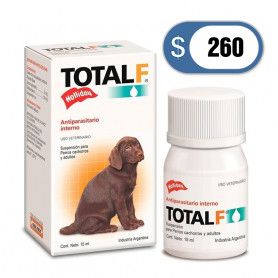 Antiparasitario Total Full suspensión gotas 15ml - Perros