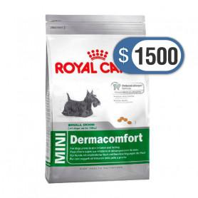 Bolsa de alimento Royal Canin Mini Dermacomfort 3 kilos