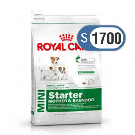 Bolsa de alimento Royal Canin Mini Starter 3 kilos