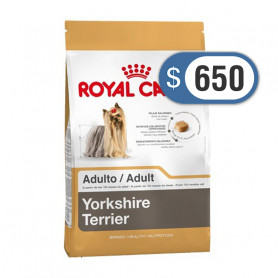 Bolsa de alimento Royal Canin Yorkshire Adulto 1 kilo