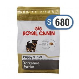Bolsa de alimento Royal Canin Yorkshire Cachorro 1 kilo
