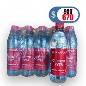 Alcohol Etílico Curuzú Pytá 96° por 500cm3 - Pack por 5 unidades - Bebidas Misioneras SRL