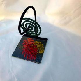 Porta espiral diseñado en vitrofusión - Modelo n° 14