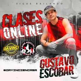 Clases online de reggaeton con Gustavo Escobar