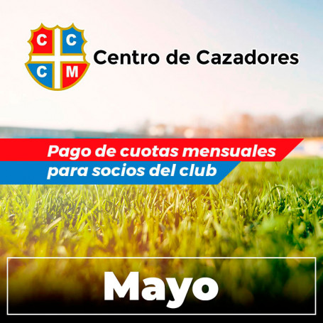 Centro Cazadores - Cuota 5/2020 - Mayo 2020