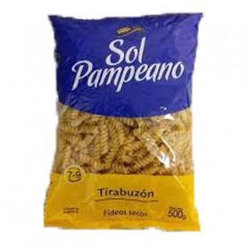 Fideo Sol Pampeano Tirabuzón 500 gramos 15 unidades