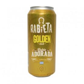 Cerveza Rabieta Golden lata 473cc