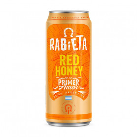 Cerveza Rabieta Honey Red 710cc
