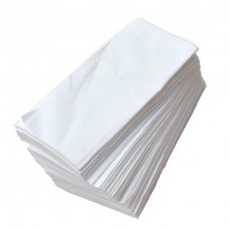 Papel toalla para manos intercalado Blanco - 10 paquetes