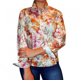 Camisa de Mujer La Josefina - Estampado floreado
