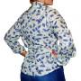 Camisa de Mujer La Josefina - Estampado de hojas