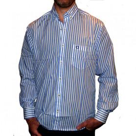 Camisas de Hombre La Josefina - Rayas azules y blancas