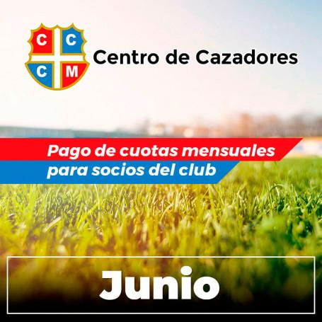 Centro Cazadores - Cuota 6/2020 - Junio 2020