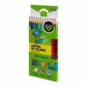 Lápices de colores Pizzini x 12 unidades