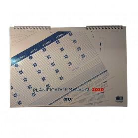 Planificador mensual 2020 - Onix