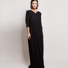 Vestido largo sami - negro