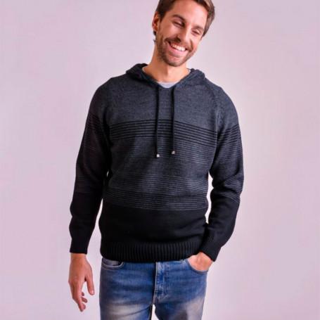 Sweater con capucha - Hombre
