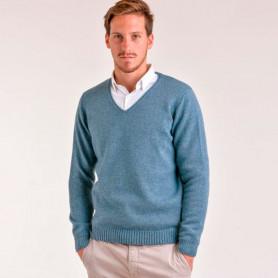 Sweater escote V - Hombre