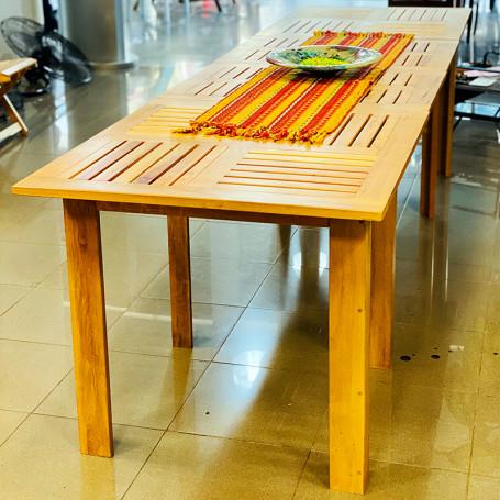 Mesa extensible de madera zoita