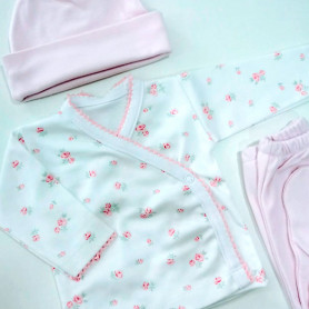 Ajuar batita recién nacidos - Pantera Rosa