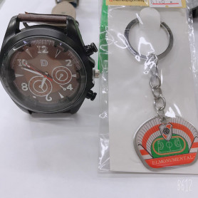 Reloj deportivo + llavero