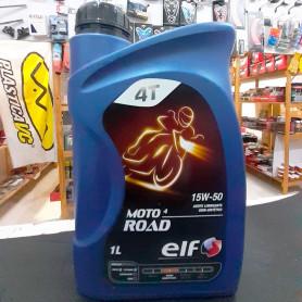 Aceite ELF Moto 4T ROAD 15 W - 50