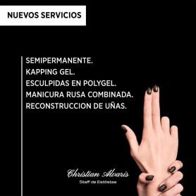 Belleza de uñas con profesionales