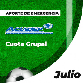 ACIADEP - Aporte De Emergencia Julio 2020