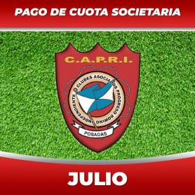 CAPRI - Cuota 7/2020 - Julio 2020
